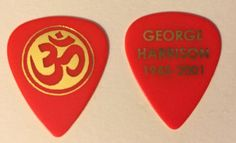 Pickbay.com has very special guitar picks for fans and collectors! http://www.pickbay.com/proddetail.asp?prod=GHmemR #georgeharrison #beatles #rareguitarpicks #vintageguitarpicks #pickbay #plectrum