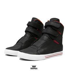 Supra TK Society 'Black Widow'  Exclusive Sneakers - High Top Trainers