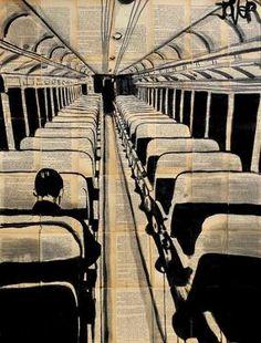 """Saatchi Art Artist Loui Jover; Drawing, """"a bigger destiny"""" #art"""