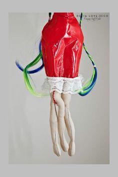 #28 Rita #handmade #dancing #freaky #dolls #independent #arts #label #2015 #fashion #milan #flowers