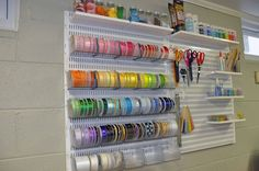 The Container Store elfa Utility Storage Peg Board for Craft Room
