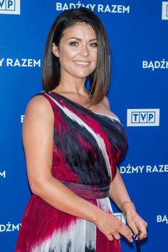 Katarzyna Cichopek Sari, Polish, Celebrities, Hot, Fashion, Saree, Moda, Vitreous Enamel, Celebs