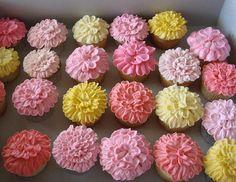 cupcake flower garden