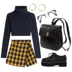 Outfits que tal vez te d Spring Outfits, Trendy Outfits, Cute Outfits, Fashion Outfits, Womens Fashion, Looks Style, Fashion Killa, Skirt Outfits, Polyvore Outfits