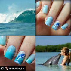 #Repost @maravilla_88 with @repostapp.  И  конечно коллаж!  Я очень жду отпуск! Море пляж теплое солнышко и счастье @parrot_polish ! Sea Foam 3 слоя и 1 слой топа. Роспись акриловыми красками. David special for you!  #parrotnailpolish #parrotpolish #fans_nails #маникюрныйинстаграм #тегсообществанейлру #тегсообществанейлру2016 #маниинста #maniinsta #nailru #ногти #маникюр #лакоманьяк #лакомания #nail #nails #instanails #manicure #nailpolish #nailsgram #naipolishaddict  #nailart #росписьногтей…