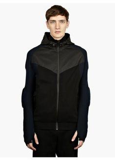 23b157e932f9 Nike NSW White Label Men s Grey Full Zip Raglan Hoodie Sneakers Fashion