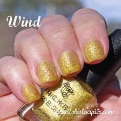 Mckfresh Nail Attire Planeteers Collection swatches. wind