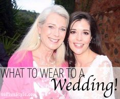 What to wear to a wedding – What Lorraine and other 40  women wore!