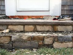 Concrete Stairs And Walkways Can Chip Wear Away Over Time Learn How To Repair Steps Then Reface Them With New Stone