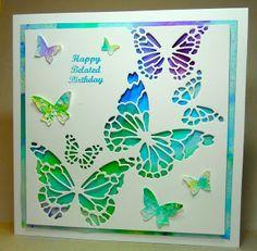Cardmaker's Garret: Butterflies Galore