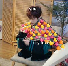 Hyungwon, Jooheon, Kihyun, Bts Memes Hilarious, Kid Memes, Monsta X Funny, Heart Meme, Memes In Real Life, Cute Love Memes
