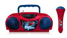 Kids' Karaoke Machines - Spiderman Radio Karaoke Kits 16348 *** Details can be found by clicking on the image.