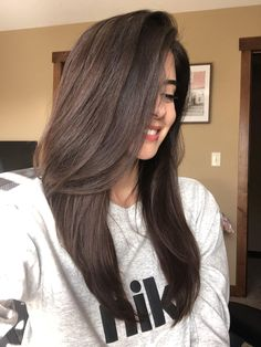 Brown Hair Inspo, Cool Brown Hair, Brown Hair Cuts, Rich Brown Hair, Medium Brown Hair Color, Brown Hair Looks, Brown Hair Shades, Deep Brown, Brown Hair From The Back