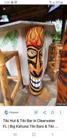 Tiki Tiki, Tiki Hut, Totem Poles, Totems
