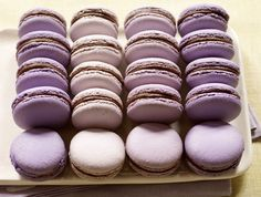Dorie Greenspan's Parisian Macarons on Food52 | The vivd colors, light-as-air and melt-in-your-mouth texture, and adorable shape make this a glamorous treat to gift or indulge.