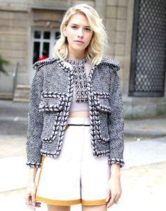 Elena Perminova Photos Photos: Arrivals at the Chanel Runway Show ...