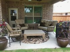 Designeru0027s Tradign Companyu0027s Armless Deep Seating Collection Enjoy Your  Outdoor Room   Yard Art Patio U0026 Fireplace | Enjoy Your Outdoor Room |  Pinterest ...