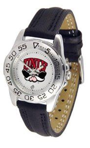UNLV Running Rebels Women's Leather Band Athletic Watch SunTime. $49.95