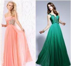 modelos de vestidos de formatura longos