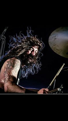 Dave Grohl Looking rather like a Viking