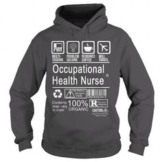 OCCUPATIONAL HEALTH NURSE - CERTIFIED JOB TITLE T Shirts, Hoodies Sweatshirts. Check price ==► http://store.customtshirts.xyz/go.php?u=https://www.sunfrog.com/LifeStyle/OCCUPATIONAL-HEALTH-NURSE--CERTIFIED-JOB-TITLE-Charcoal-Hoodie.html?41382