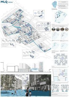 Propuestas presentadas al Concurso de Arquitectura para Estudiantes Medellin experimental social housing Organizado por ARCHmedium