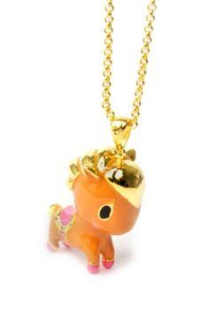 Noir x Tokidoki Pony Necklace