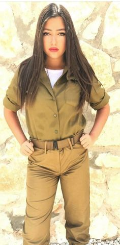 bigswitchbladeknife.com Automatic knife sales loves this pic! IDF - Israel Defense Forces - Women