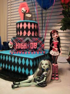 Monster High Birthday Cake my daughter would love this