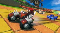 Some of you may know that Sonic & All-Stars Racing Transformed is currently available for purchase at many retailers and on multiple consoles at this point in time. What you may not know however is that GameStop is now holding a special promotion where anyone who buys the game will receive a special limited edition Hot Wheels car.