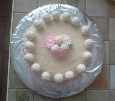 Raffaelo torta Emmka 11 birthday - recept