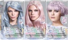 loreal feria smokey pastels Kids Hair Color, Hair Colors, Feria Hair Color, Garnier Hair Color, Vidal Sassoon Hair Color, Deep Conditioning, L'oréal Paris, Pastel Hair, Blonde Color