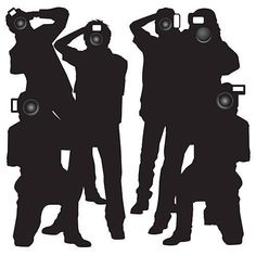 This Hollywood Paparazzi Cutout will let you feel like a star at your Hollywood themed event. Each one-sided Paparazzi Standee is made of cardboard.