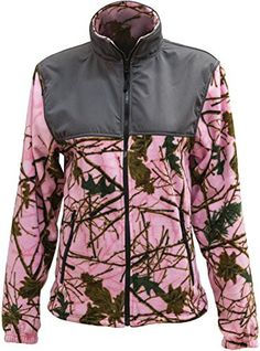 Trail Crest Womens Fleece Wind Jacket XL Pink Camo Gray *** For more information, visit image link. (This is an affiliate link) Coats For Women, Jackets For Women, Clothes For Women, Cool Jackets, Casual Jackets, Wind Jacket, Pink Camo, Camo Print, Work Casual