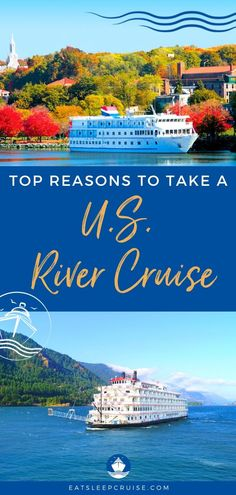 Exploring America's heartland, the Southeast, or the Pacific Northwest is easier than ever when you take a US River Cruise with American Cruise Lines. Packing For A Cruise, Cruise Travel, Cruise Vacation, Travel Usa, Vacation Ideas, Vacations, Cruise Excursions, Cruise Destinations, Shore Excursions