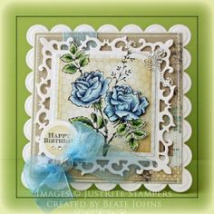 With Sympathy card designed by Beate Johns