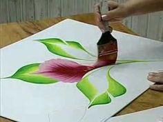 Pintando en Todo: Mariposas con Luz Angela Vera - YouTube