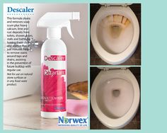 Norwex Descaler versus Toilet Bowl Ring.