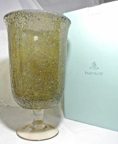 Partylite Hurricane Siena MOSAIC P90037 NIB NEW IN BOX GREAT FOR VALENTINE DAY  Seller information dtwardell (211 ) ...