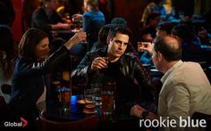 Rookie Blue Season 5 Episode 7 Andy, Sam and Oliver