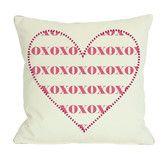 Found it at Wayfair - XOXO Heart Pillow