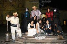 """Jalpan de Serra Qro. Como parte de los tradicionales festejos con motivo del """"Día de Muertos"""", en éste lugar tuvo..."""