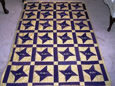 I have been quilting for many years. Made quilts for friends, family and everyone I knew who was having a baby. Crown Royal Quilt, Crown Royal Bags, Royal Crowns, Quilt Size Charts, Quilt Sizes, Lap Quilts, Scrappy Quilts, Quilting Room, Royal Pattern