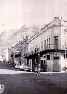 District Six, Cape Town. Photo credit: many, many moons ago, taken by my paternal grandfather. Old Pictures, Old Photos, Vintage Photos, Cities In Africa, Desert Life, Cape Town South Africa, Most Beautiful Cities, Places Of Interest, African History