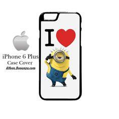 I Heart Minion Despicable Me iPhone 6 Plus Hard Case