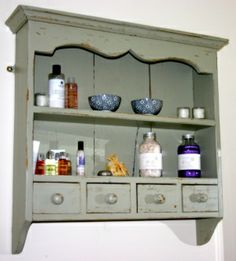 Hand Painted dresser top