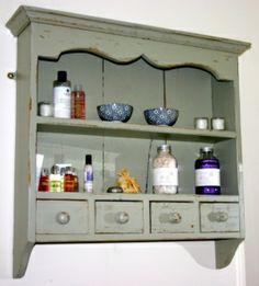 Hand Painted dresser top