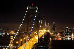 SF Bay Bridge, Lucid Photography by Ryan Johnson