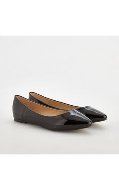 slip on SHOES, SHOES, black, RESERVED