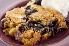 A quintessential dump cake, this recipe calls for canned pears and yellow cake mix, although the little bit of ground ginger or nutmeg does add an extra level of flavor. The fruit along with the …